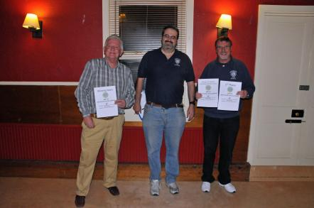 Brighton and Burgess Hill Presidents with Lion Pete Dilloway, the organiser